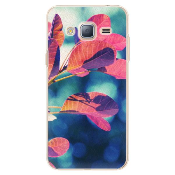 Plastové pouzdro iSaprio - Autumn 01 - Samsung Galaxy J3 2016