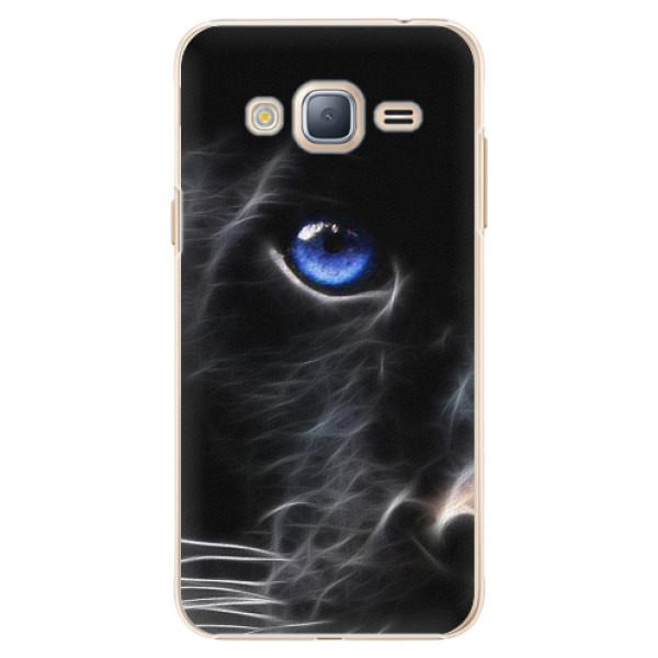 Plastové pouzdro iSaprio - Black Puma - Samsung Galaxy J3 2016