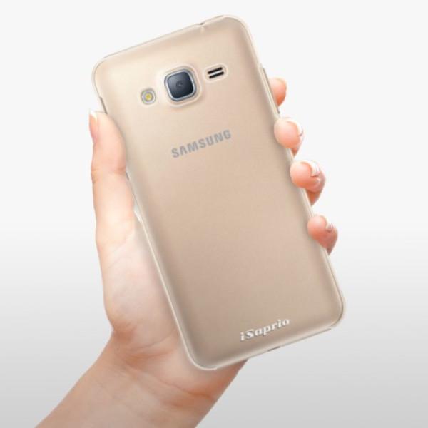 Plastové pouzdro iSaprio - 4Pure - mléčný bez potisku - Samsung Galaxy J3 2016