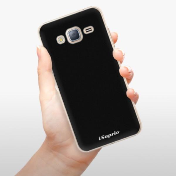 Plastové pouzdro iSaprio - 4Pure - černý - Samsung Galaxy J3 2016