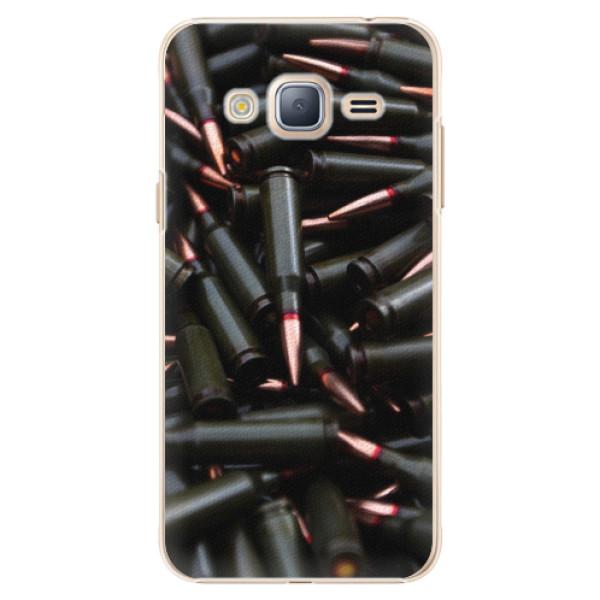 Plastové pouzdro iSaprio - Black Bullet - Samsung Galaxy J3 2016