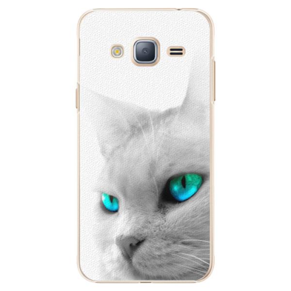 Plastové pouzdro iSaprio - Cats Eyes - Samsung Galaxy J3 2016