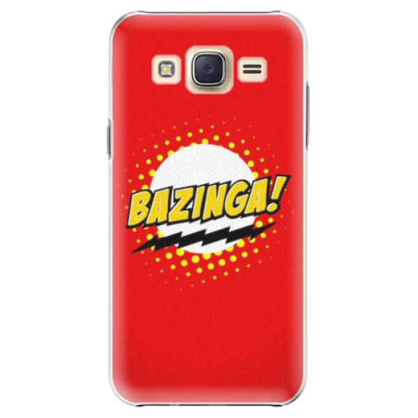 Plastové pouzdro iSaprio - Bazinga 01 - Samsung Galaxy J5