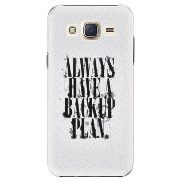Plastové pouzdro iSaprio - Backup Plan - Samsung Galaxy J5