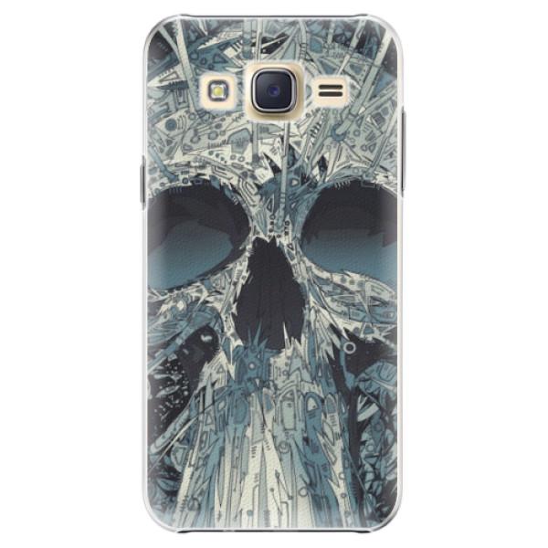 Plastové pouzdro iSaprio - Abstract Skull - Samsung Galaxy J5