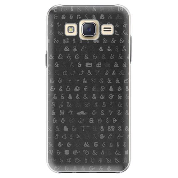 Plastové pouzdro iSaprio - Ampersand 01 - Samsung Galaxy J5