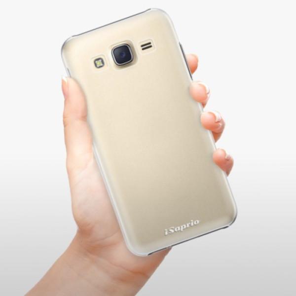 Plastové pouzdro iSaprio - 4Pure - mléčný bez potisku - Samsung Galaxy J5