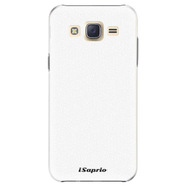 Plastové pouzdro iSaprio - 4Pure - bílý - Samsung Galaxy J5