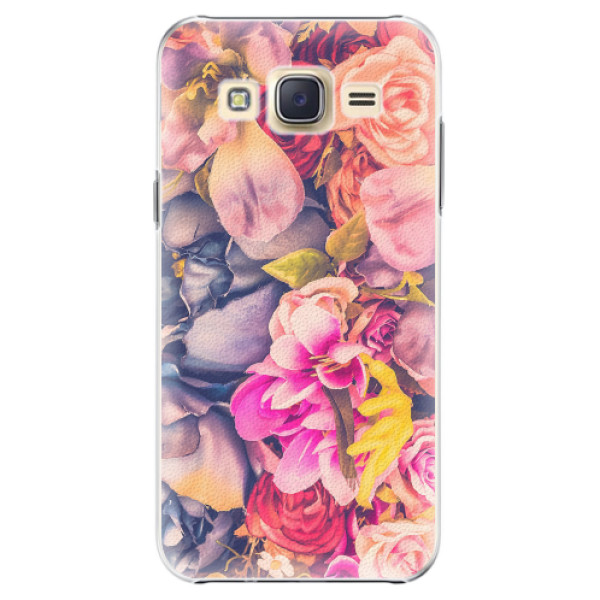 Plastové pouzdro iSaprio - Beauty Flowers - Samsung Galaxy J5