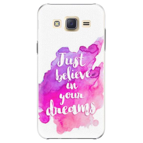 Plastové pouzdro iSaprio - Believe - Samsung Galaxy J5