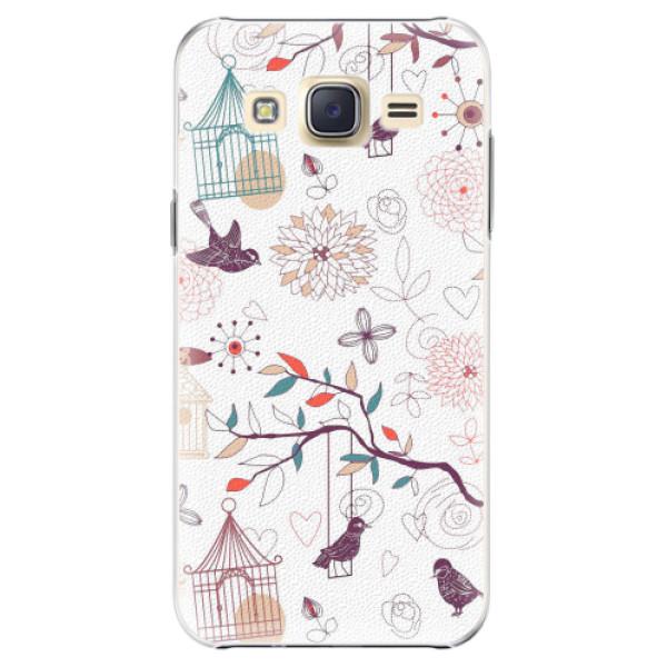 Plastové pouzdro iSaprio - Birds - Samsung Galaxy J5