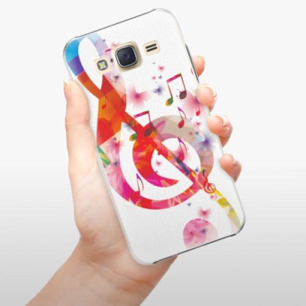 Plastové pouzdro iSaprio - Love Music - Samsung Galaxy J5