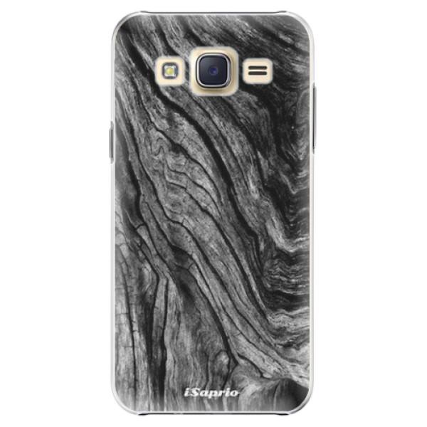 Plastové pouzdro iSaprio - Burned Wood - Samsung Galaxy J5