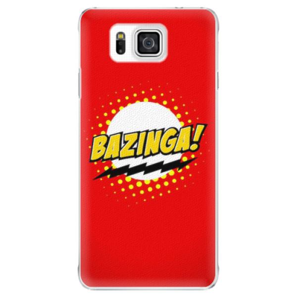 Plastové pouzdro iSaprio - Bazinga 01 - Samsung Galaxy Alpha