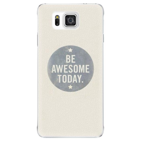 Plastové pouzdro iSaprio - Awesome 02 - Samsung Galaxy Alpha