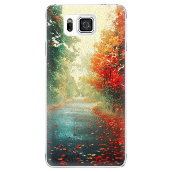 Plastové pouzdro iSaprio - Autumn 03 - Samsung Galaxy Alpha