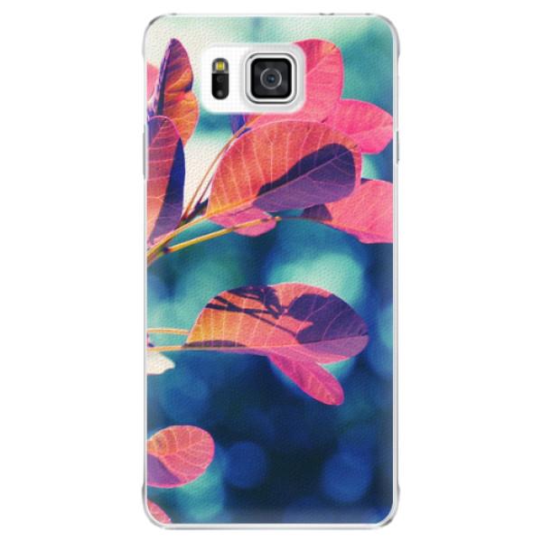 Plastové pouzdro iSaprio - Autumn 01 - Samsung Galaxy Alpha