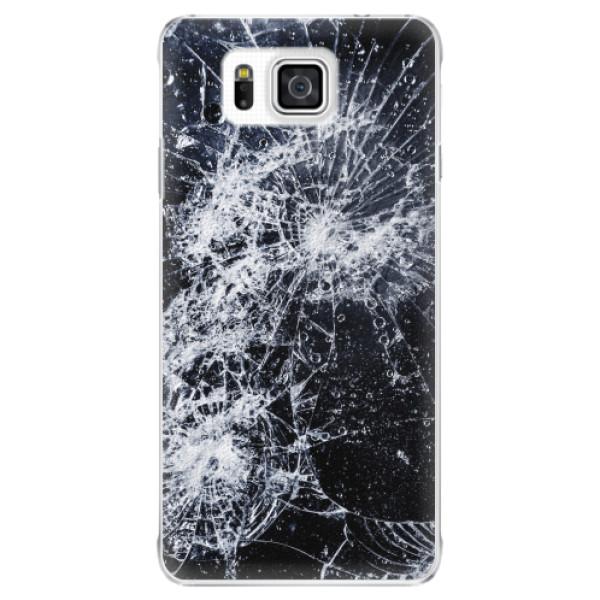 Plastové pouzdro iSaprio - Cracked - Samsung Galaxy Alpha