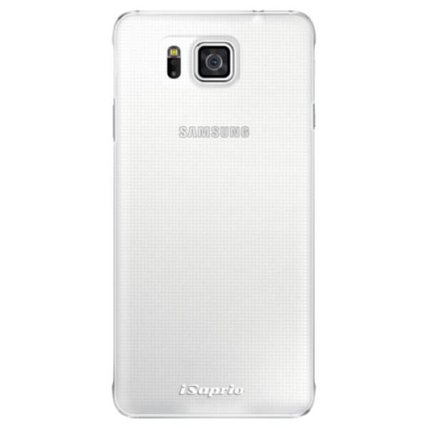 Plastové pouzdro iSaprio - 4Pure - mléčný bez potisku - Samsung Galaxy Alpha