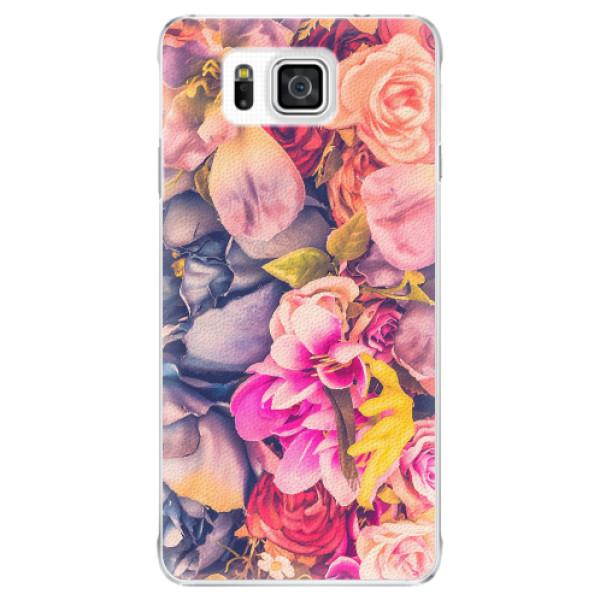 Plastové pouzdro iSaprio - Beauty Flowers - Samsung Galaxy Alpha