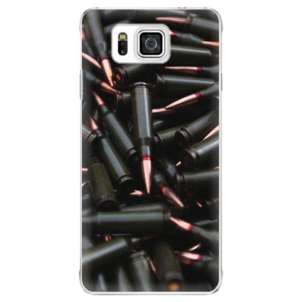 Plastové pouzdro iSaprio - Black Bullet - Samsung Galaxy Alpha