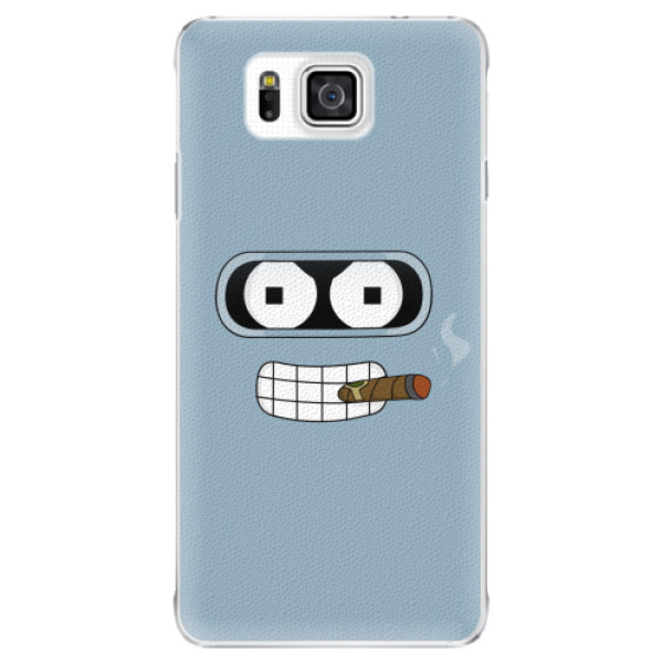 Plastové pouzdro iSaprio - Bender - Samsung Galaxy Alpha