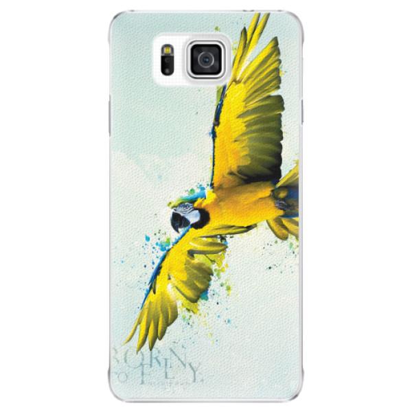 Plastové pouzdro iSaprio - Born to Fly - Samsung Galaxy Alpha