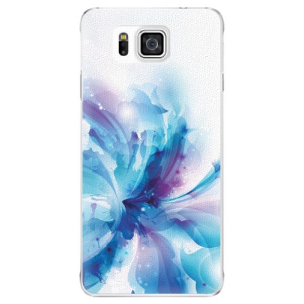 Plastové pouzdro iSaprio - Abstract Flower - Samsung Galaxy Alpha