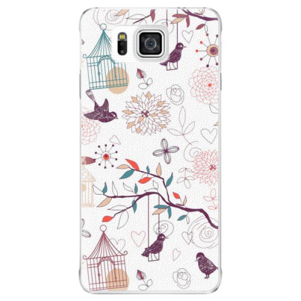 Plastové pouzdro iSaprio - Birds - Samsung Galaxy Alpha