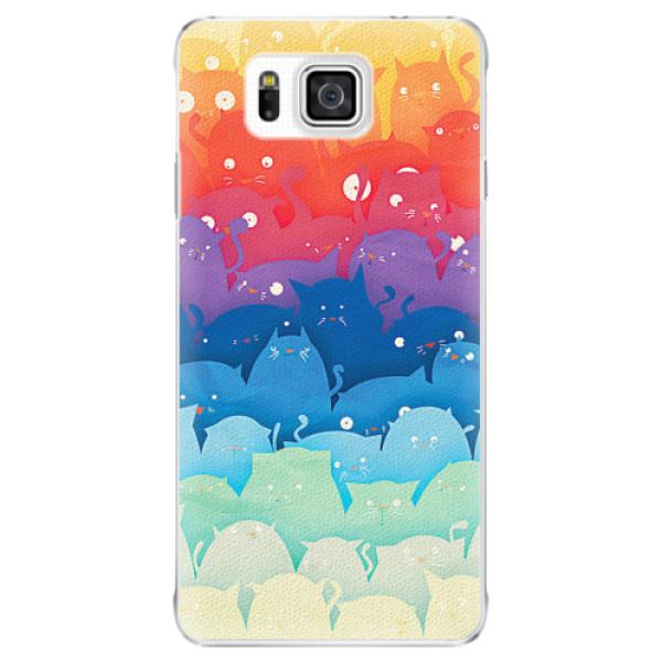Plastové pouzdro iSaprio - Cats World - Samsung Galaxy Alpha