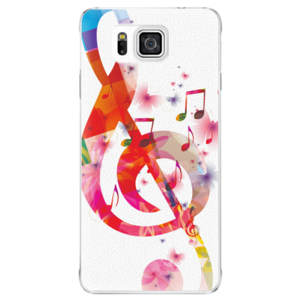 Plastové pouzdro iSaprio - Love Music - Samsung Galaxy Alpha