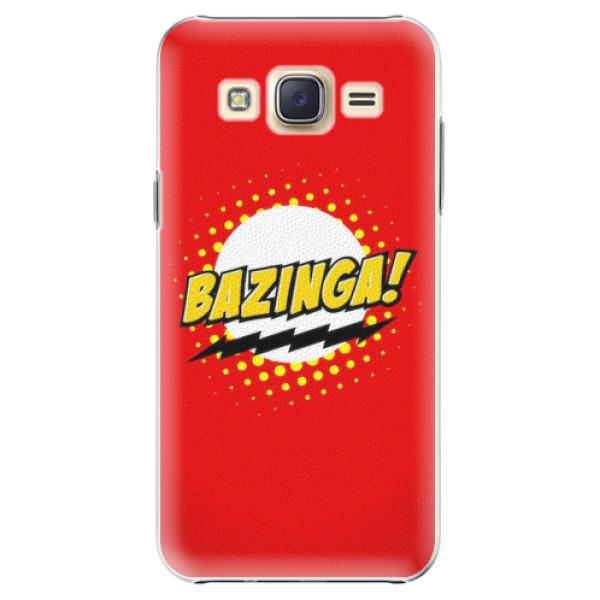 Plastové pouzdro iSaprio - Bazinga 01 - Samsung Galaxy Core Prime