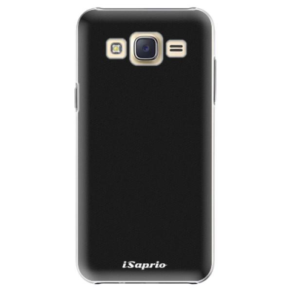 Plastové pouzdro iSaprio - 4Pure - černý - Samsung Galaxy Core Prime