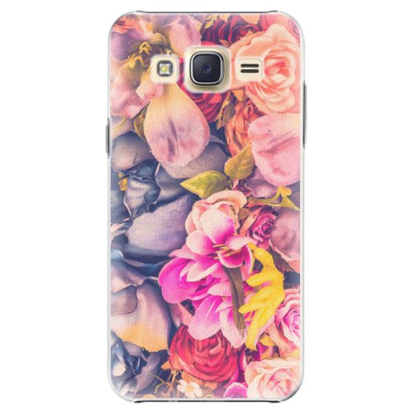 Plastové pouzdro iSaprio - Beauty Flowers - Samsung Galaxy Core Prime