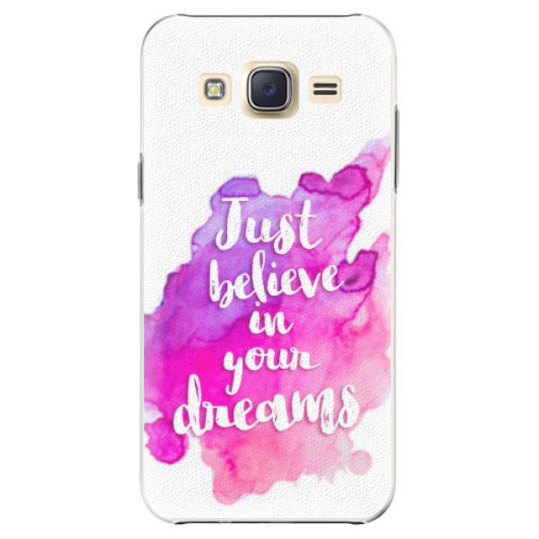 Plastové pouzdro iSaprio - Believe - Samsung Galaxy Core Prime