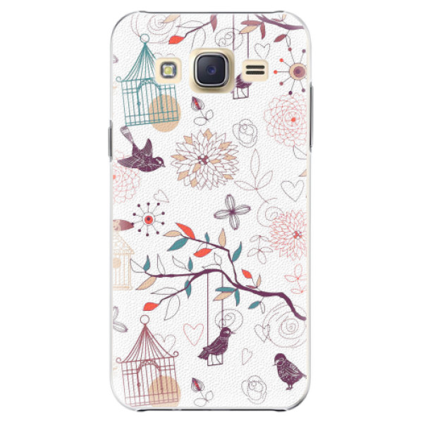 Plastové pouzdro iSaprio - Birds - Samsung Galaxy Core Prime