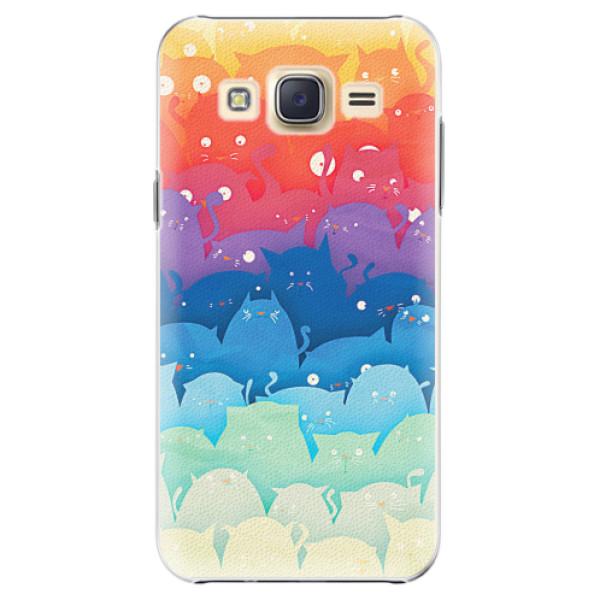 Plastové pouzdro iSaprio - Cats World - Samsung Galaxy Core Prime