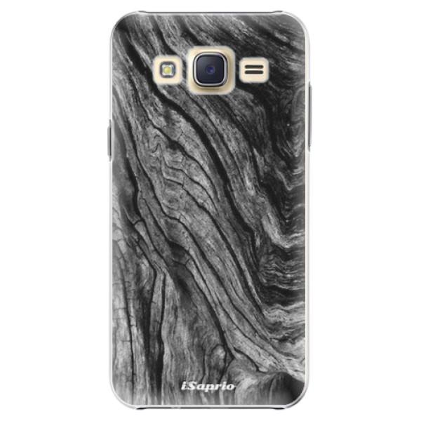 Plastové pouzdro iSaprio - Burned Wood - Samsung Galaxy Core Prime