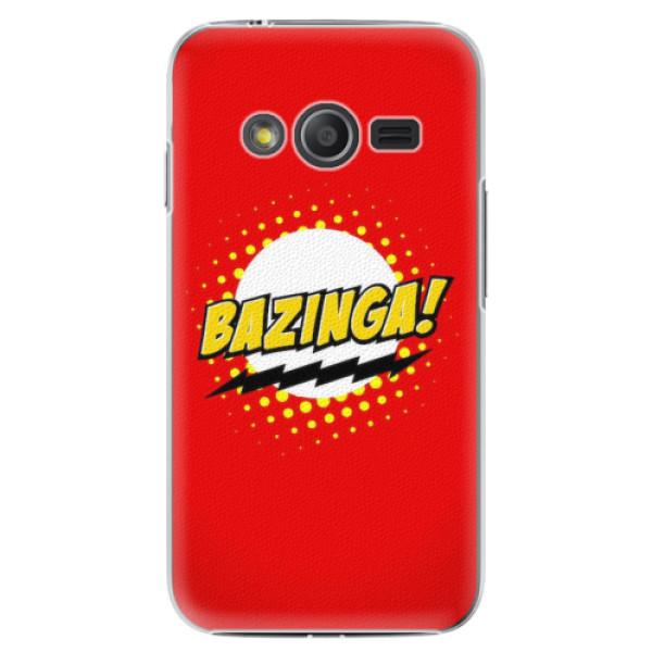 Plastové pouzdro iSaprio - Bazinga 01 - Samsung Galaxy Trend 2 Lite
