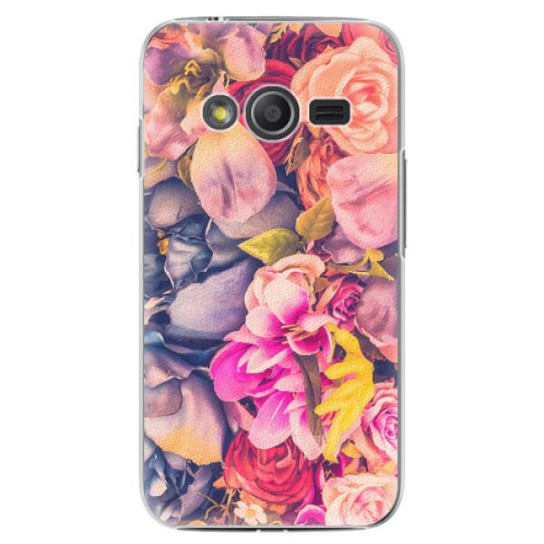 Plastové pouzdro iSaprio - Beauty Flowers - Samsung Galaxy Trend 2 Lite