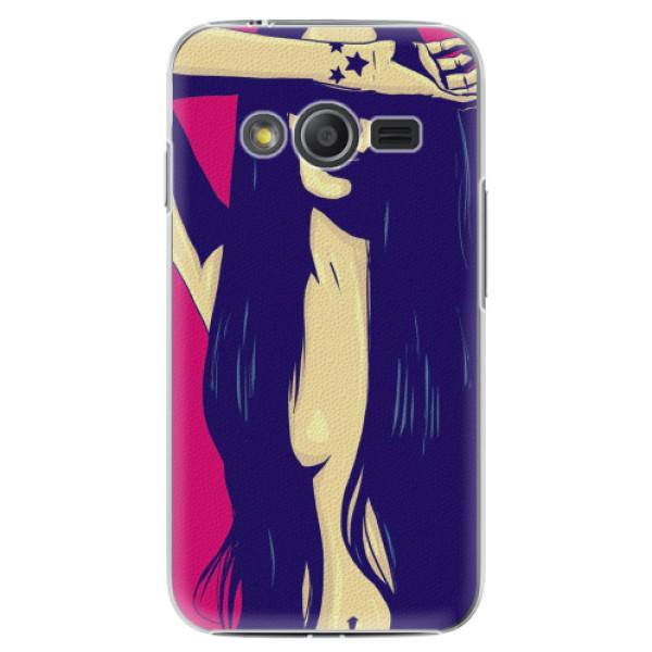 Plastové pouzdro iSaprio - Cartoon Girl - Samsung Galaxy Trend 2 Lite