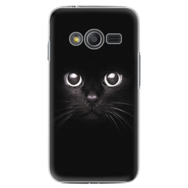 Plastové pouzdro iSaprio - Black Cat - Samsung Galaxy Trend 2 Lite