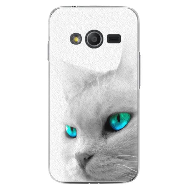 Plastové pouzdro iSaprio - Cats Eyes - Samsung Galaxy Trend 2 Lite