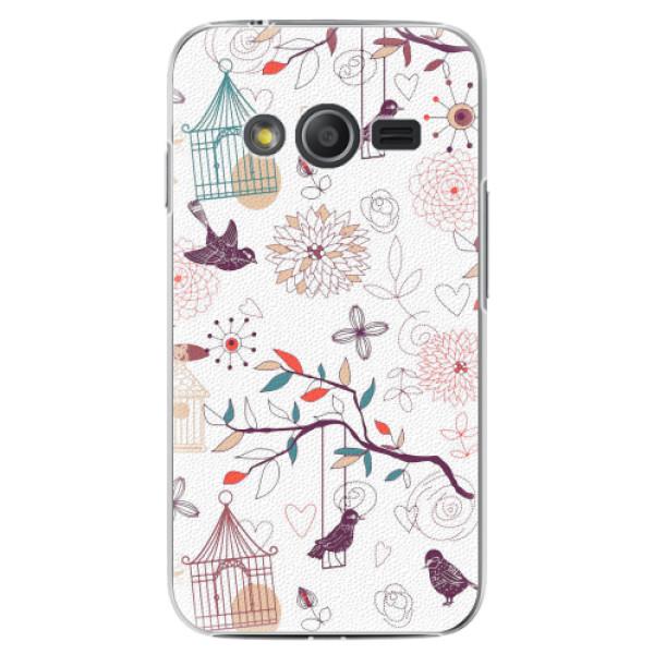 Plastové pouzdro iSaprio - Birds - Samsung Galaxy Trend 2 Lite