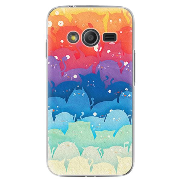 Plastové pouzdro iSaprio - Cats World - Samsung Galaxy Trend 2 Lite