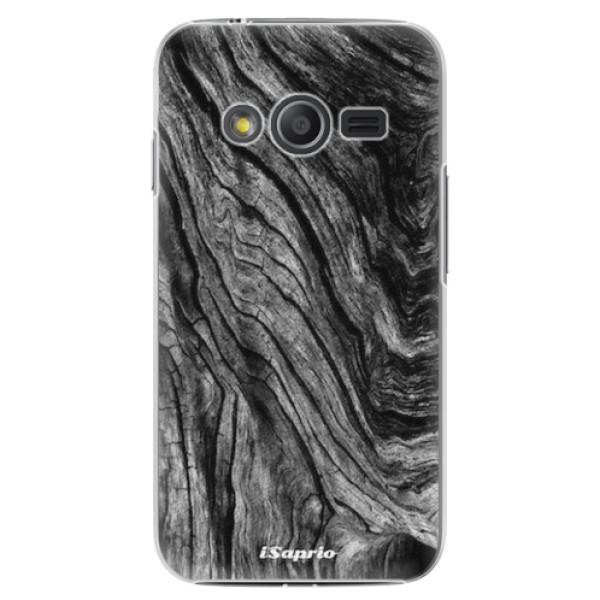 Plastové pouzdro iSaprio - Burned Wood - Samsung Galaxy Trend 2 Lite