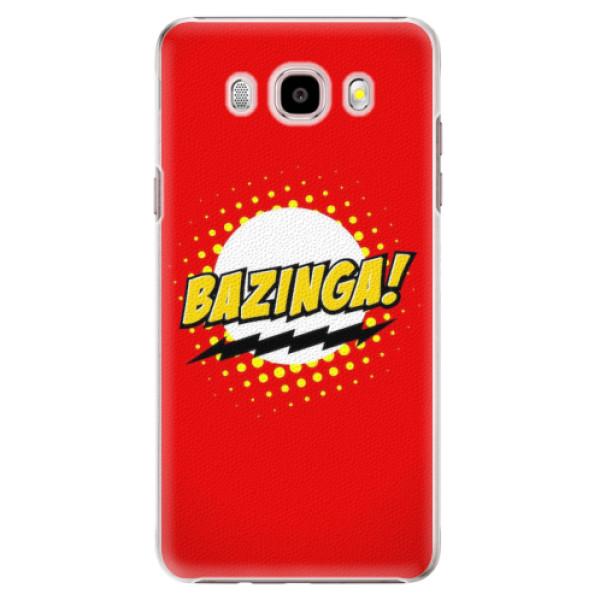 Plastové pouzdro iSaprio - Bazinga 01 - Samsung Galaxy J5 2016