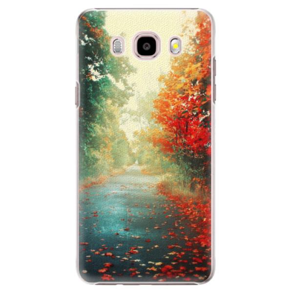 Plastové pouzdro iSaprio - Autumn 03 - Samsung Galaxy J5 2016
