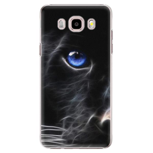 Plastové pouzdro iSaprio - Black Puma - Samsung Galaxy J5 2016