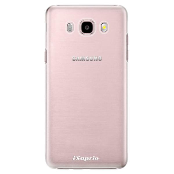 Plastové pouzdro iSaprio - 4Pure - mléčný bez potisku - Samsung Galaxy J5 2016